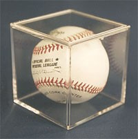 Baseball Cube with Pop-Off Lid - Pro-Mold
