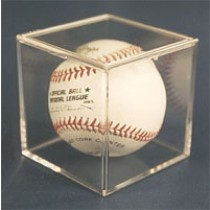 Baseball Cube with Pop-Off Lid 5 Year UV - Pro-Mold