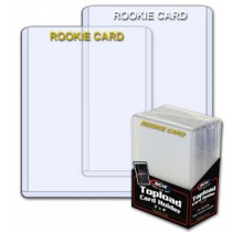 BCW Rookie White Regular Card Top Loader - Pack of 25