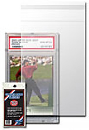 "Graded Card Sleeve - 1/2"" Thick One Screw Sleeve - 100 Pack"